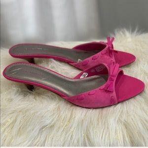 Isaac Mizrahi Georgina leather sandals size 9.5